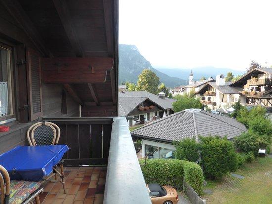 Gästehaus Brigitte: Our balcony view
