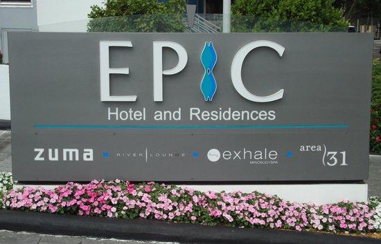 Kimpton EPIC Hotel : Fachada Epic
