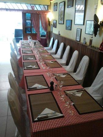 Le Chalet Suisse : Banquet