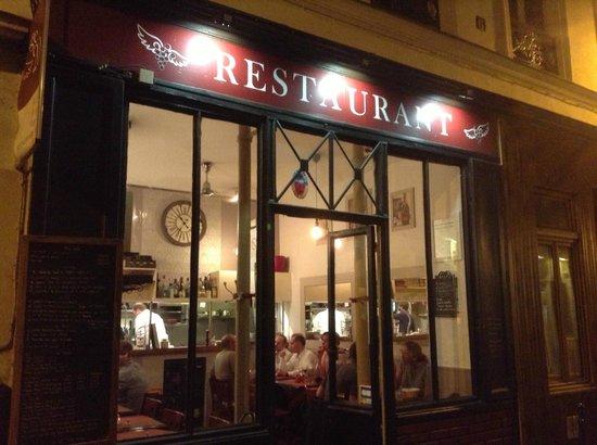 L'Ange 20 Restaurant : Vista da rua
