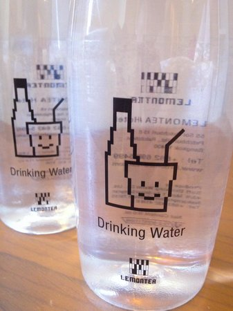 Lemontea Hotel: They made their own water