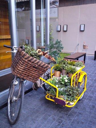 Lemontea Hotel: Welcome bicycle