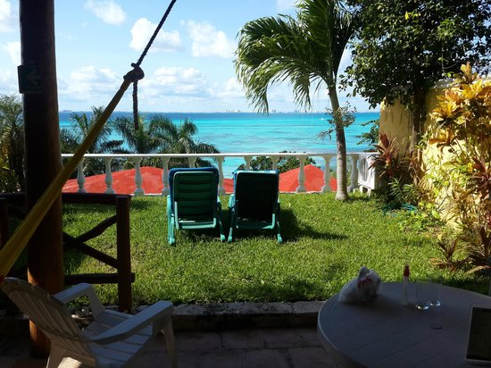 Hotel La Joya: La vista desde mi habitacion