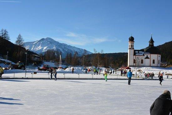 Skating ring at the Olympia Sport Center