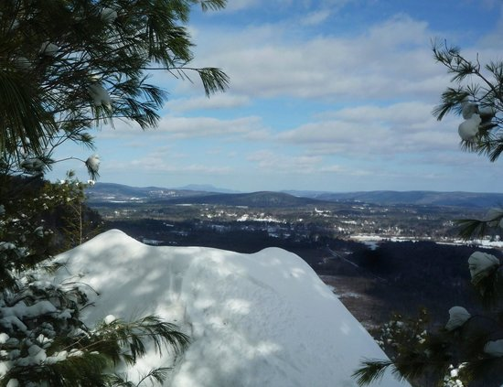 Monument Mountain: Mt Greylock in the distance