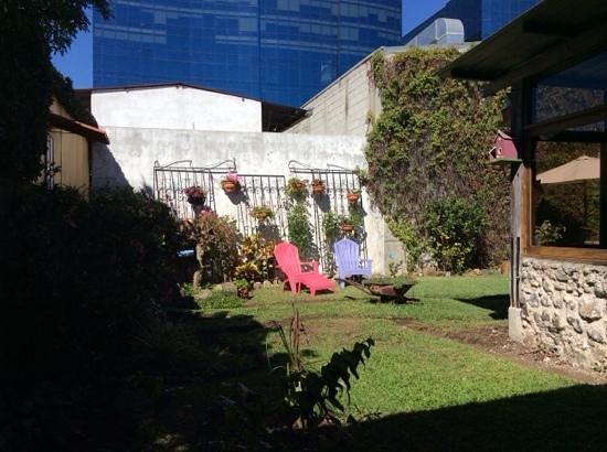 Dai Nonni Hotel : el jardin