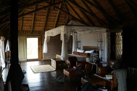 Camp Shawu: The room