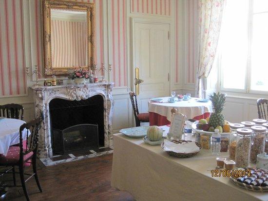 Les Cordeliers Bed and Breakfast : Les Cordeliers Breakfast Room.