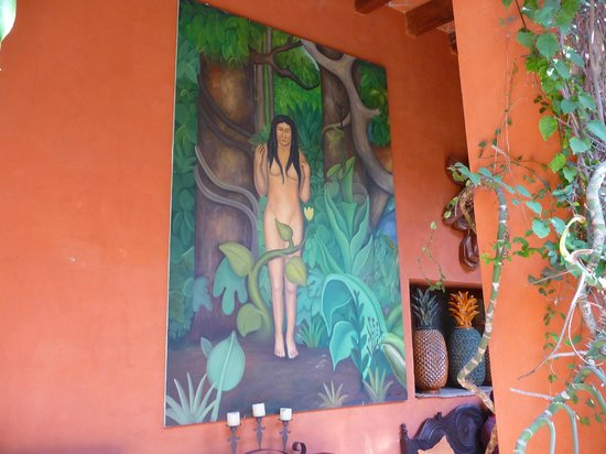 Casa Schuck Boutique Hotel: Beautiful art throughout