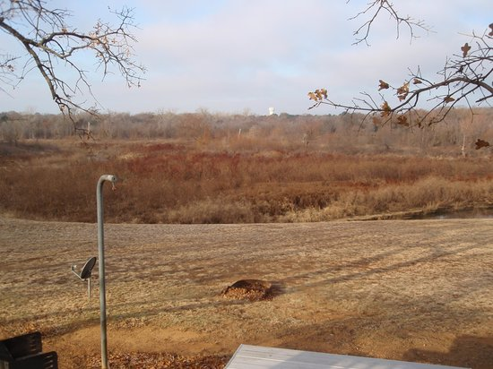 The Vineyards Campground and Cabins: swampland view not lakeview