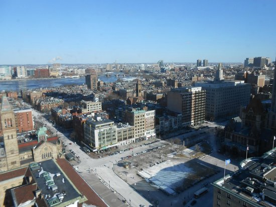 The Westin Copley Place, Boston : Room with a view.