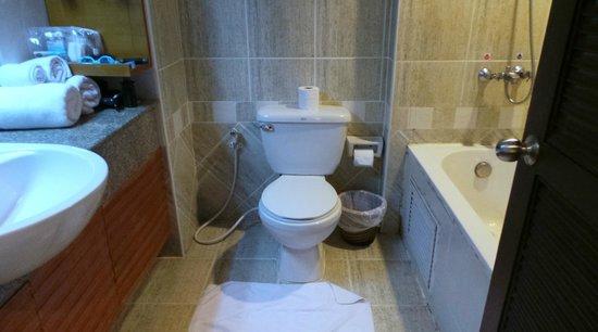 Citin Garden Resort: the bathroom