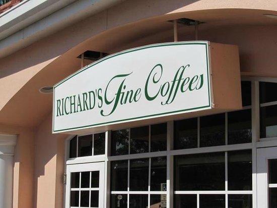 Richard's Fine Coffee: Sign