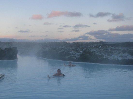 Silica Hotel: The hotel's private lagoon
