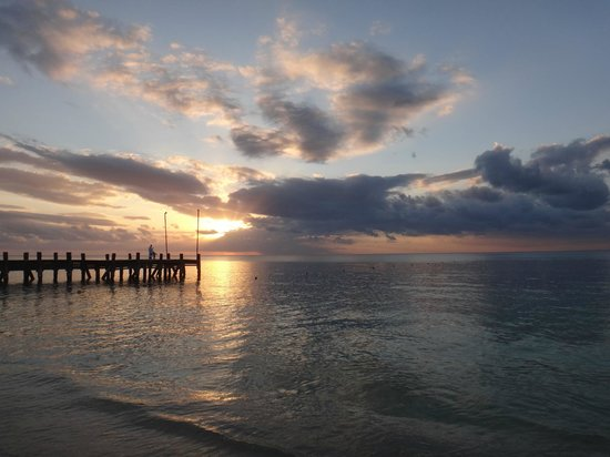 Occidental Cozumel: beautiful sunsets