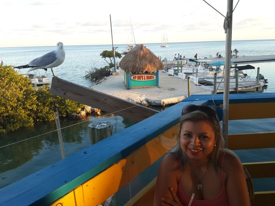 Wahoo's Bar and Grill : Simply beautiful and the food is delicious