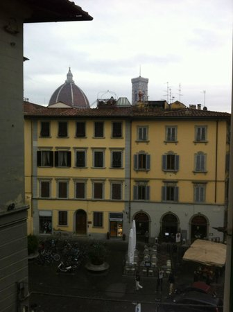 HOTEL LORENA : the view from my room