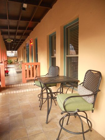 Eldorado Suites Hotel: Suite 1's porch
