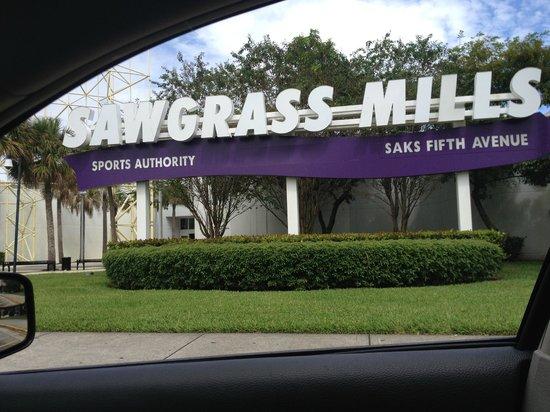 Sawgrass Mills : Entrada
