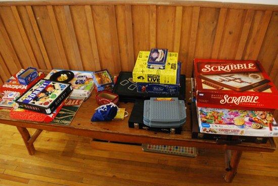 Little Main Street Inn: Games to borrow