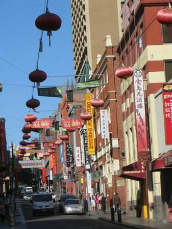 Somerset on Elizabeth, Melbourne: Nearby Chinatown