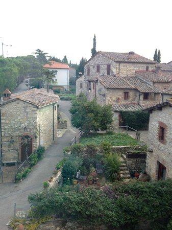 Castellare De' Noveschi: view from room - junior suite