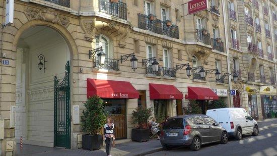 Lennox hotel picture of lenox montparnasse paris for Hotel des bains paris delambre