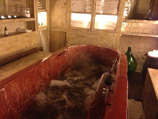 Castellare De' Noveschi: Fabo wine spa treatment