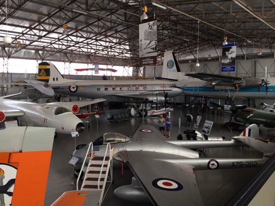 South Australian Aviation Museum: View of the planes