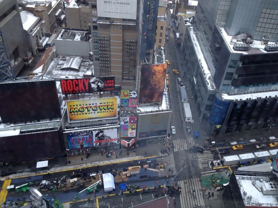 DoubleTree Suites by Hilton Hotel New York City - Times Square: View from room 2403