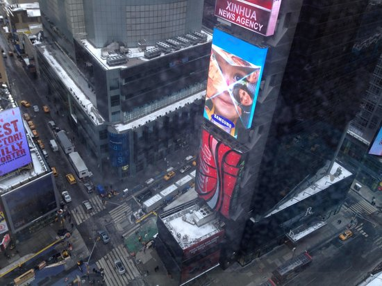 DoubleTree Suites by Hilton Hotel New York City - Times Square : View from room 2403