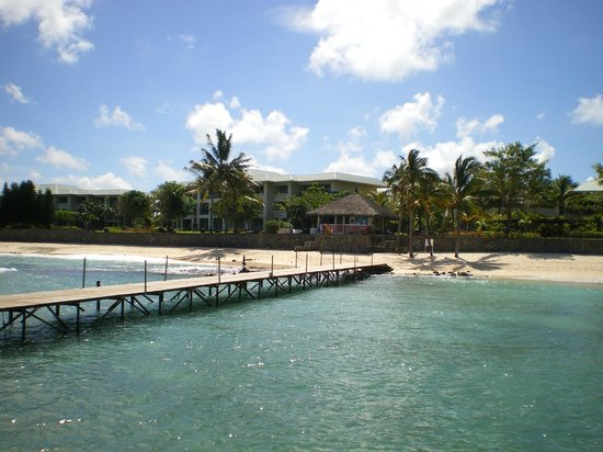 Le Meridien Ile Maurice: View from the pier