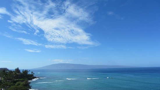 Kahana Beach Resort: Lanai Sky