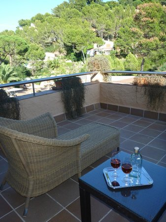 Hotel Restaurante Sa Punta : our balcony