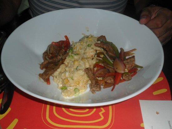 fusion restaurant: Carne