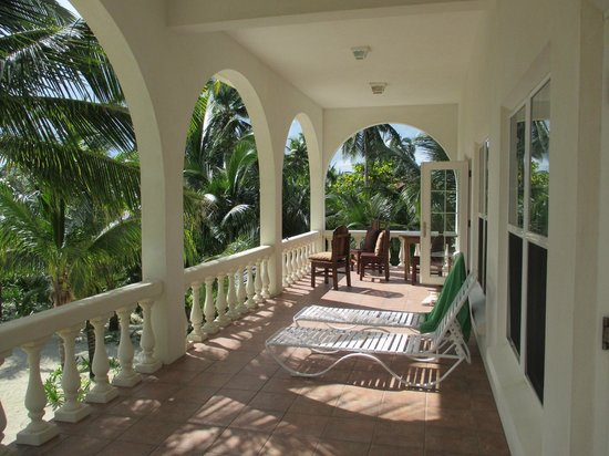 Casa Blanca Mata Grande : Upper deck area