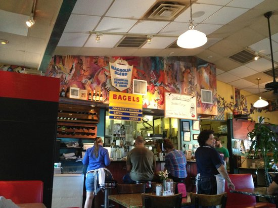 Magnolia Cafe South : Great menu!