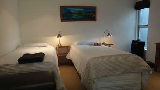 Ara Roa Accommodation - Whangarei Heads : Aria twin bedroom