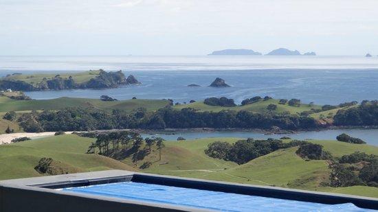 Ara Roa Accommodation - Whangarei Heads : Aria view