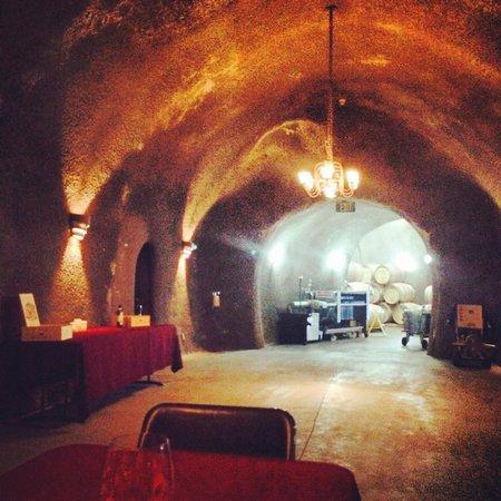 Beau Wine Tours: Wine cave at Truchard