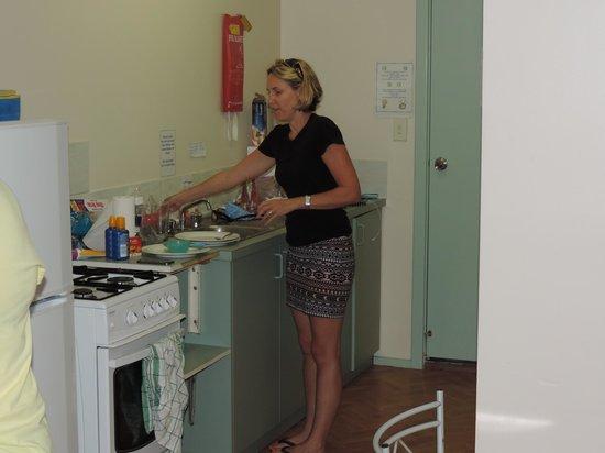Bay Lodge : kitchenette