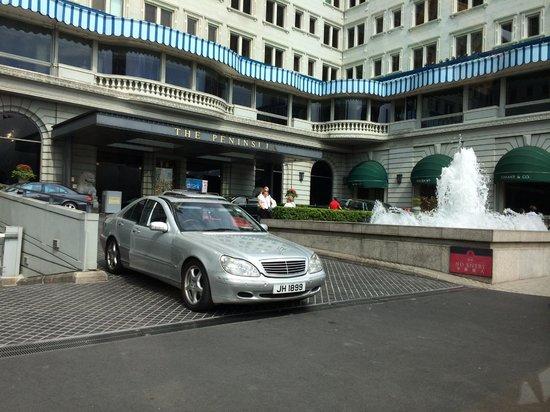 The Peninsula Hong Kong : Outside the hotel