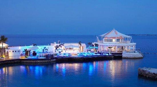 Ibiza Beach Club: View from the beach
