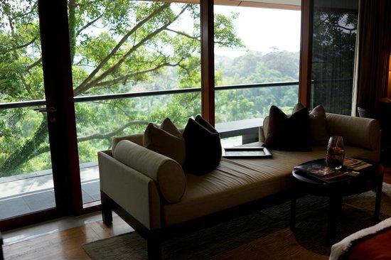 Capella Singapore: room 525