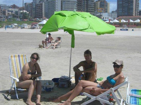 Praia de Torres (Torres Beach): Na praia Grande, em Torres.