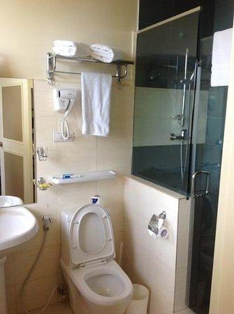 Addis Regency Hotel: good water pressure