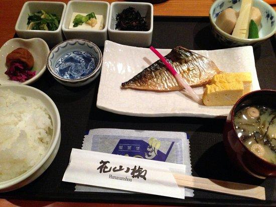 Shiba Park Hotel : 朝食