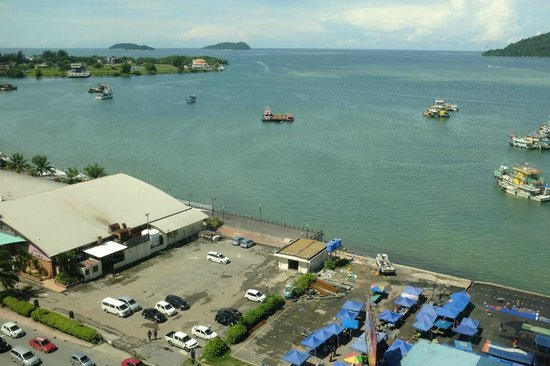Le Meridien Kota Kinabalu : panoramic view from the room