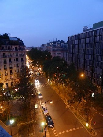 Hôtel Lutetia : View over Boulevard Raspail