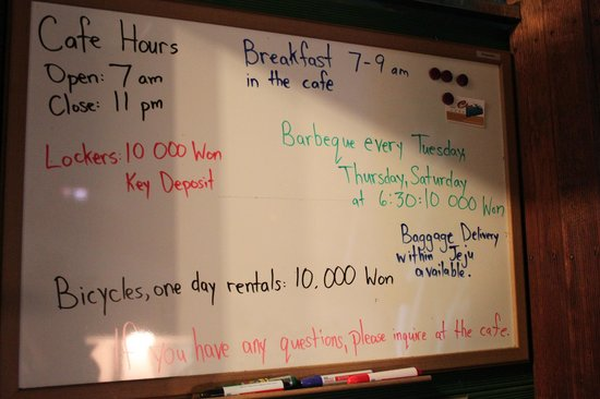 Backpacker's Home : Доска объявления